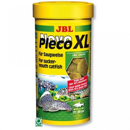 Hrana pesti acvariu JBL NovoPleco XL 250ml