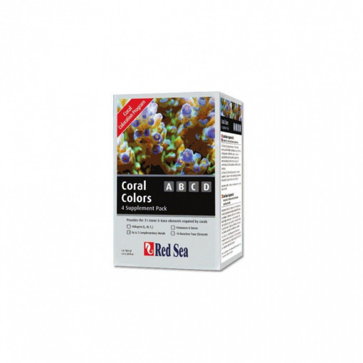 Red Sea Coral Colors ABCD - 4×100 ml
