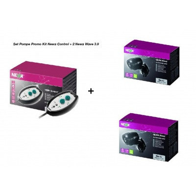 Set pompe valuri Promo kit Newa Control + 2 Newa Wave 2.7