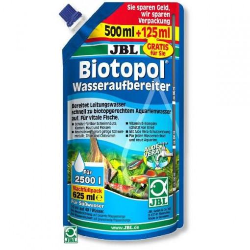 Tratament apa acvariu JBL Biotopol Refill 625ml pentru 2500 l