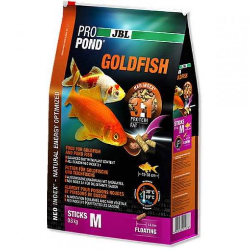 Hrana pentru carasi JBL ProPond Goldfish M 0,8 kg