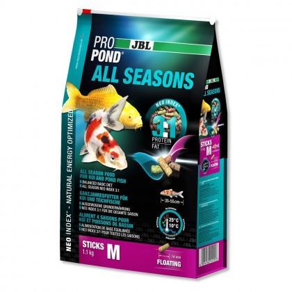 Hrana pesti iaz, pentru toate anotimpurile JBL ProPond All Seasons M 4,3 kg