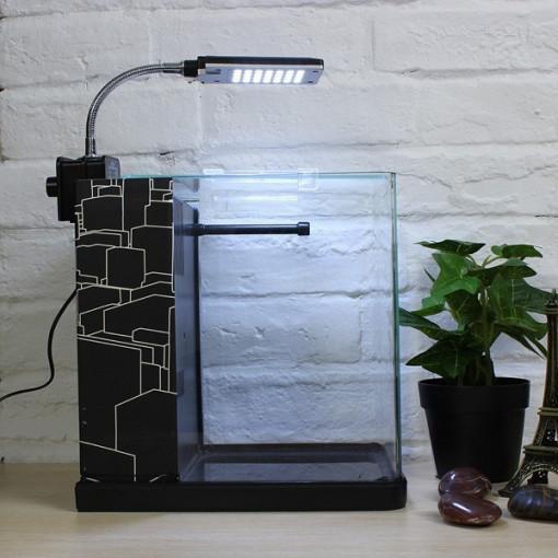 Nano Acvariu 9 litri-ME-175 black