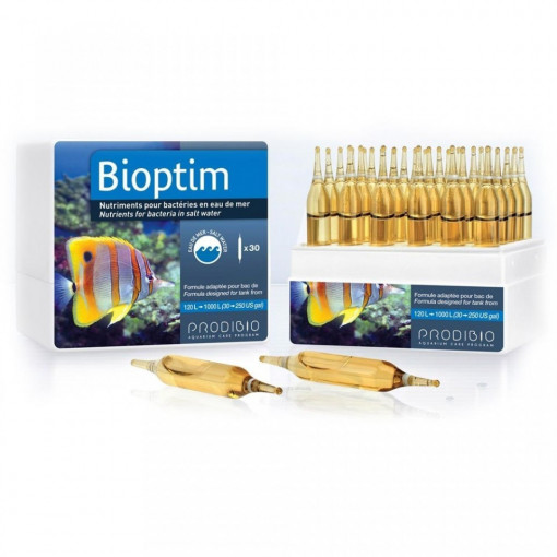 Tratament apa marina Bioptim 30 fiole - PRODIBIO
