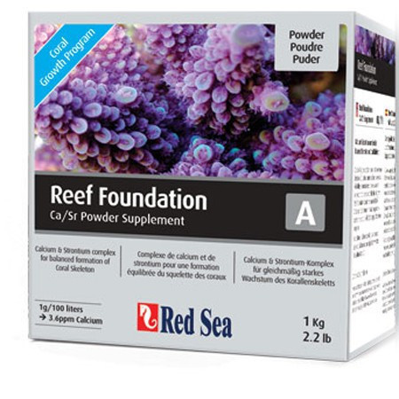 Supliment marin Reef Foundation A (Ca/Sr) - 1kg - RED SEA