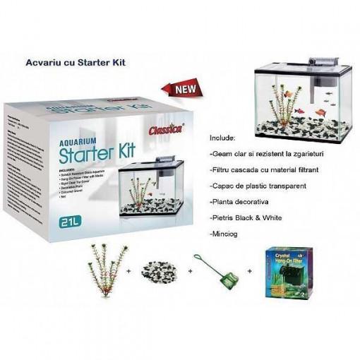 Acvariu Starter Kit 12 litri-AT668