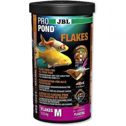 Hrana pesti iaz JBL ProPond Flakes M 0,13 kg