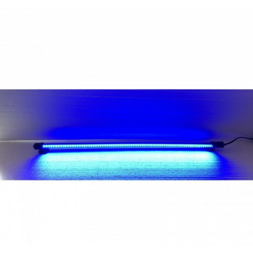 Lampa submersibila LED 30 cm culoare albastra iluminare acvariu / iaz-DEE-T3 BLUE