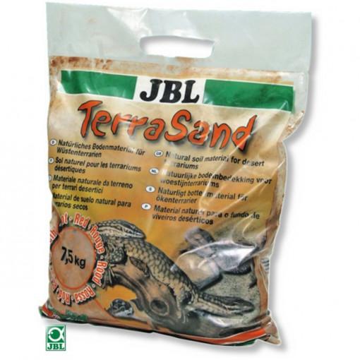 Substrat terariu JBL TerraSand natur-red 7.5 kg