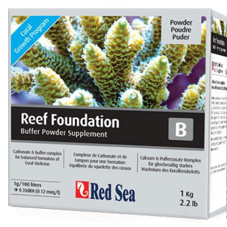 Supliment marin RED SEA Reef Foundation B (Alk) - 1kg
