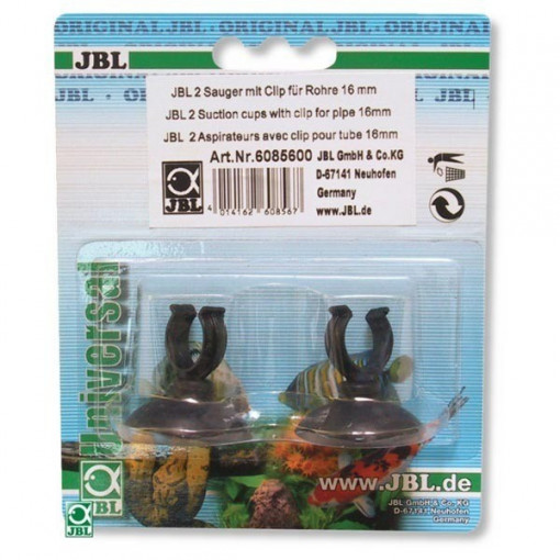 Ventuze acvariu JBL 16 mm Clip suction pad