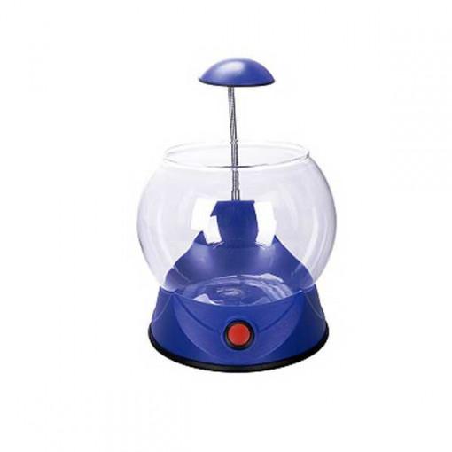 Acvariu sferic 2.5L Hailea V01-albastru