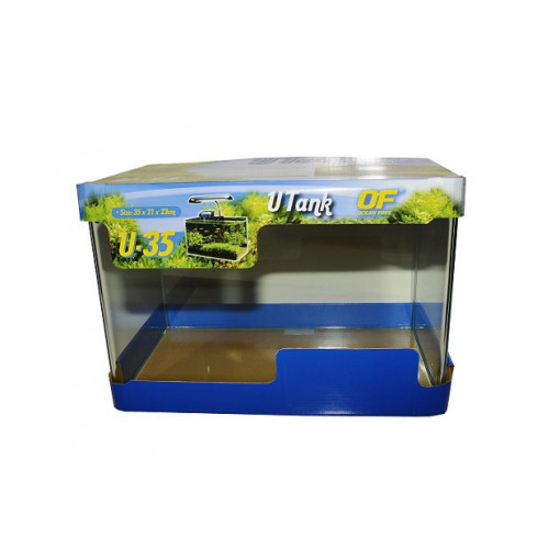 Acvariu sticla Opti white ultarclar 16 litri - OCEAN FREE