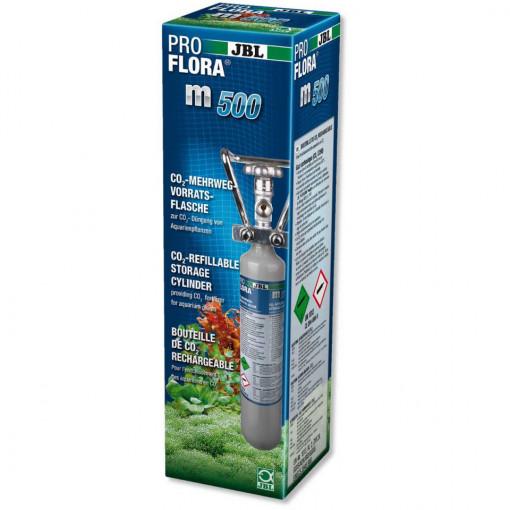 Butelie reincarcabila de CO2 JBL ProFlora m500 silver