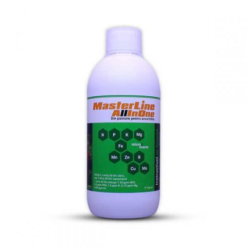Fertilizant complet plante MasterLine All In One (500 Ml)