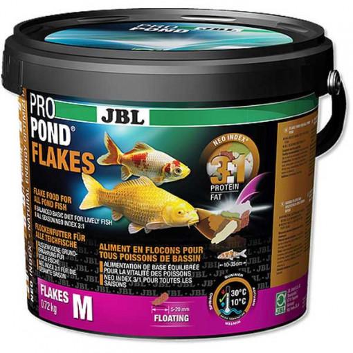 Hrana pesti iaz JBL ProPond Flakes M 0,72 kg