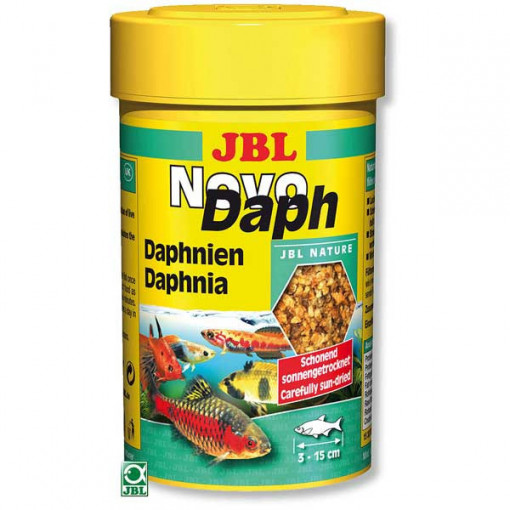 Hrana uscata prin inghetare JBL NovoDaph 100 ml
