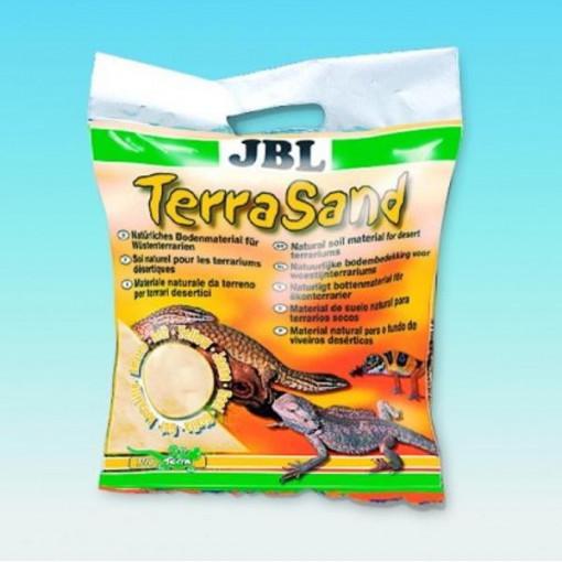 Substrat terariu JBL TerraSand natur-yellow 7,5 kg