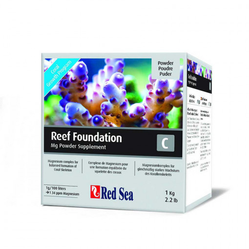 Supliment marin RED SEA Reef Foundation C (Mg) - 1kg