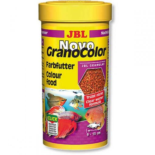 Hrana granule pentru toate speciile JBL NovoGranoColor mini 100ml Refill