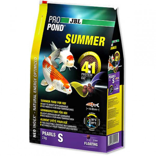 Hrana pesti iaz, pentru vara JBL ProPond Summer S 2,0 kg