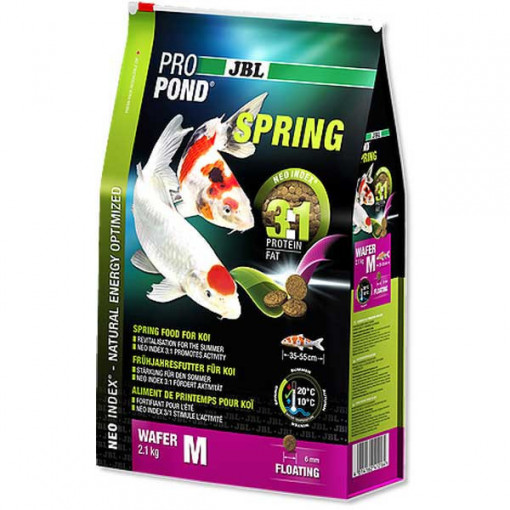 Hrana primavara pesti koi JBL ProPond Spring M 2,1 KG