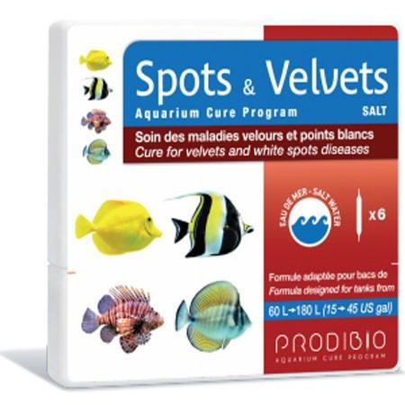 Medicament infectie bacterie Spots&Velvets Salt 6 fiole - PRODIBIO