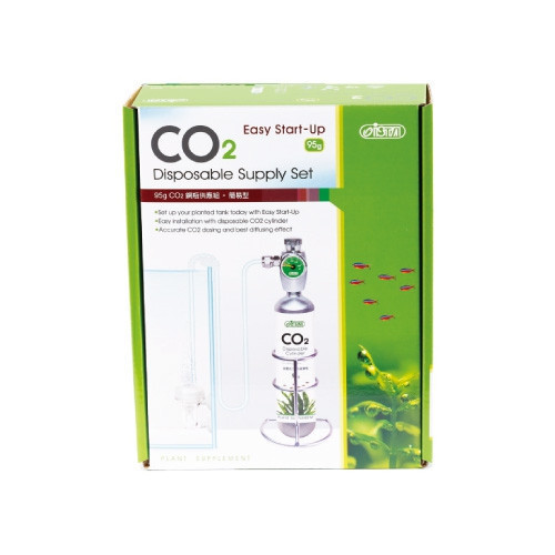 Set CO2 Easy start up, butelie nano 95gr, unica folosinta, regulator CO2, 1 manometru, difuzor 3in1