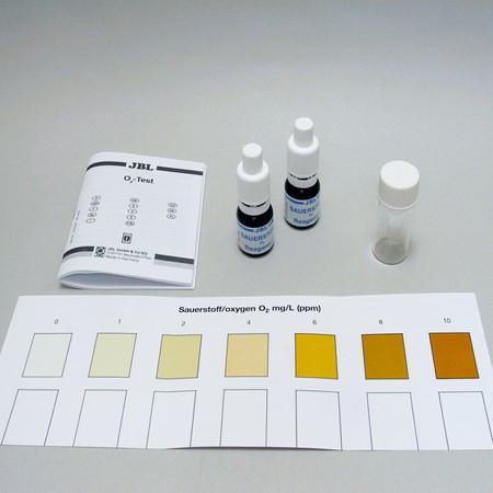 Test apa acvariu JBL O2 Refill