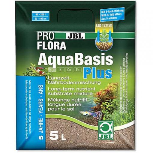 Fertilizant plante acvariu JBL AquaBasis plus 5 l,