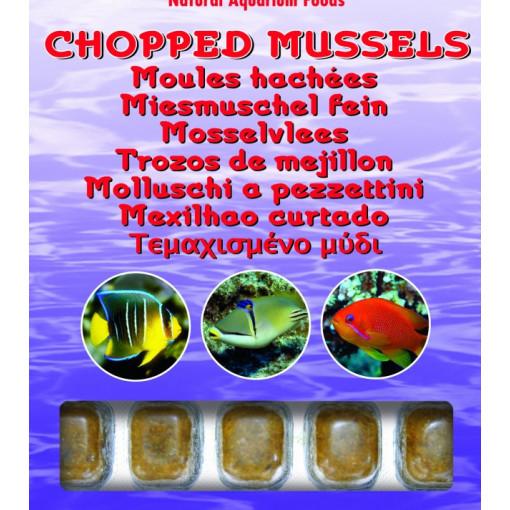 Hrana congelata Ocean Nutrition Chopped Mussel 100g