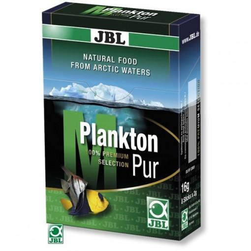 Hrana pesti acvariu JBL PlanktonPur M2 / 8 plicuri x2g