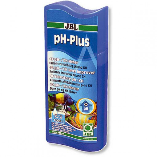 Solutie tratare apa JBL pH-Plus 100 ml pentru 400 l