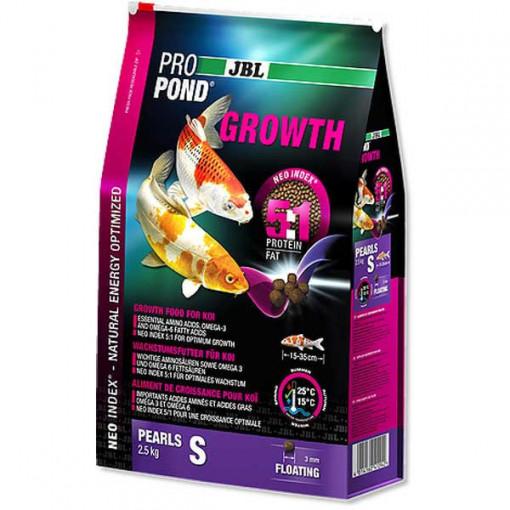 Hrana pesti iaz JBL ProPond Growth S 2,5 kg