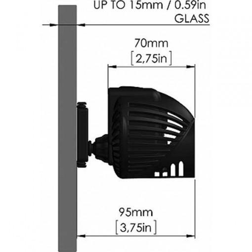 Pompa de valuri Rossmont, MX11600 pentru acvarii de 330-400l