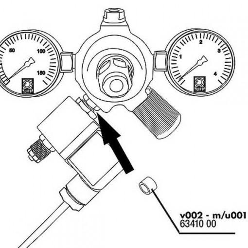 Garnitura reductor presiune JBL Seal for ProFlora u/m001