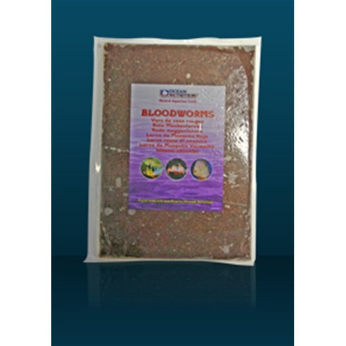 Hrana congelata pentru pesti Bloodworms Flatpack 454g