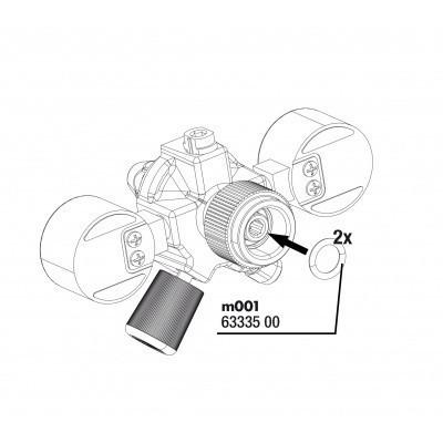 JBL O-ring pentru ProFlora m001