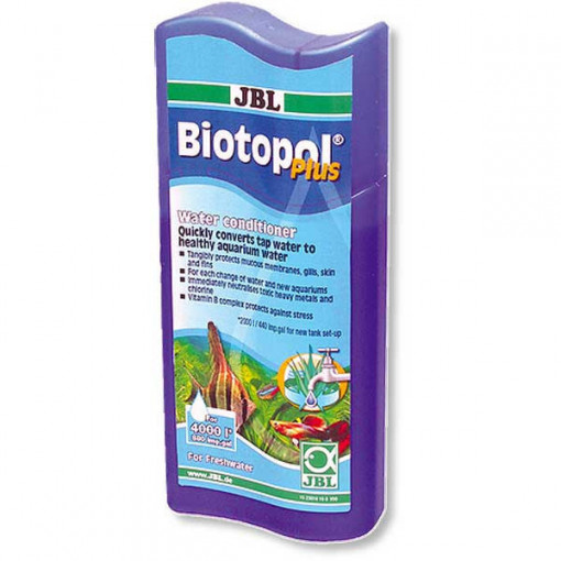 Solutie tratare apa JBL Biotopol plus 100 ml for 800 l