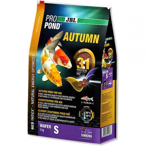 Hrana completa pesti koi , JBL ProPond Autumn S 3 kg