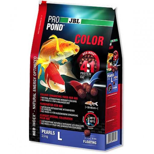 Hrana pesti iaz JBL ProPond Color L 2,5 kg