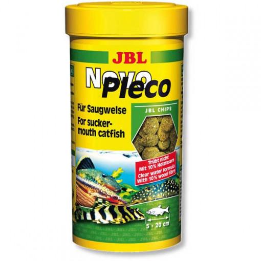 Hrana tablete pentru pesti erbivori JBL NovoPleco 250 ml