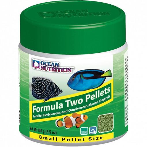 Ocean Nutrition Formula Two Marine Pellets Small 100g
