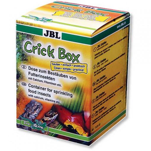 Recipient preparare mancare reptile JBL CrickBox