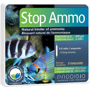 Bacterii ciclare acvariu Stop Ammo 6 fiole - PRODIBIO
