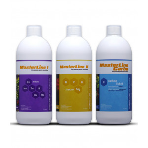Fertilizant complet Masterline 3x1000 ml + Penseta MasterLine Tweez Cadou