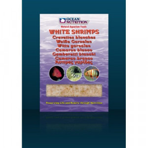 Hrana congelata pentru pesti White Shrimps 100g