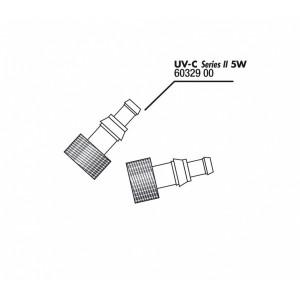 JBL Mufa conectare furtun Aqua Cristal UV-C 5W (2x)