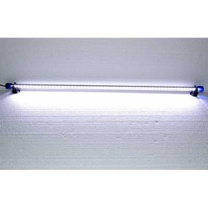 Lampa iluminare acvariu cu leduri 75 cm alba-DEE-T8 WHITE