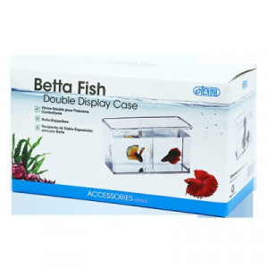 Mini acvariu dublu - Betta Fish Double Display Case